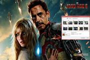 Iron Man 3 Windows 7 Theme