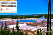 Grand Prismatic Spring Windows 7 Theme