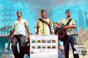 Grand Theft Auto V Windows 7 Theme