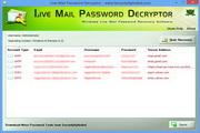 Live Mail Password Decryptor