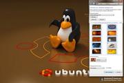 Ubuntu Linux Windows 7 Theme