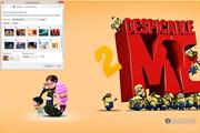 Despicable Me 2 Windows 7 Theme