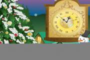 Snow Clock ScreenSaver