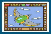 Coloring Book 12: Airplanes