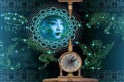 Sky Mandala Clock ScreenSaver