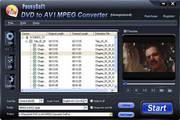 PeonySoft DVD to AVI MPEG Converter