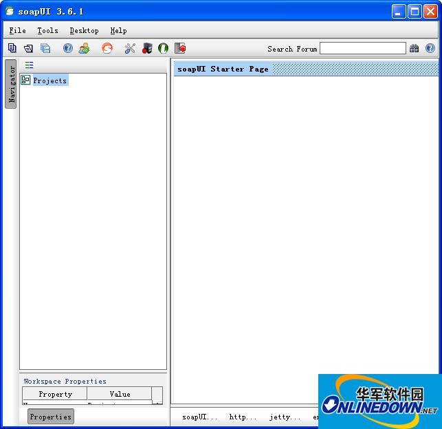 Web服务监控soapUI截图1