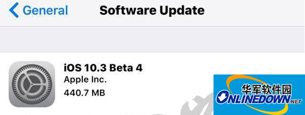 ios10.3 beta4开发者预览版固件