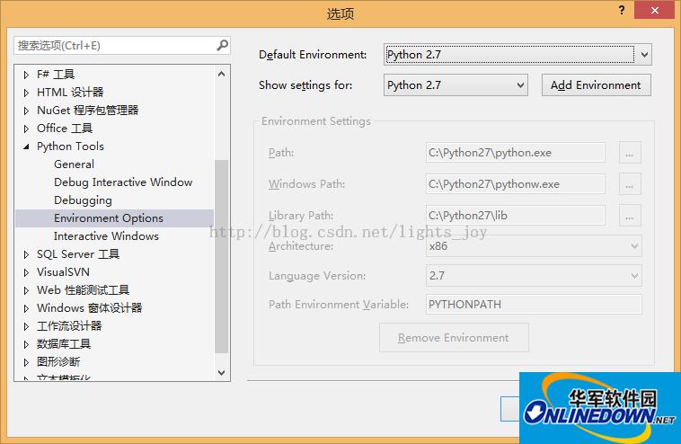 VS Python插件(Python Tools for Visual Studio)截图
