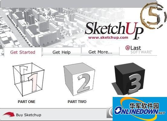 sketchup草图大师截图1