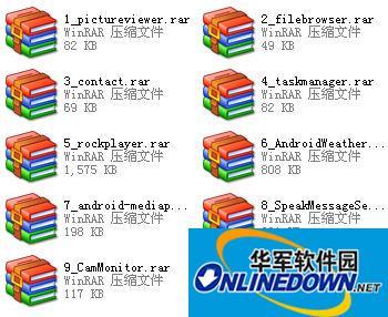 10款安卓程序源码实例
