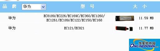 华为无线上网卡驱动合集(12合1)截图