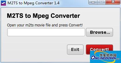 M2TS转Mpeg格式转换器(M2TS to Mpeg Converter)