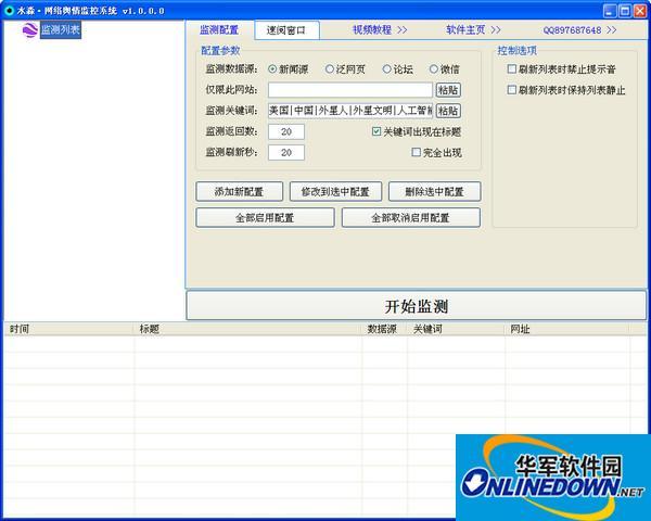 水淼网络舆情监控系统