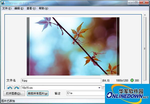 JPEGCrops(图片裁剪软件)