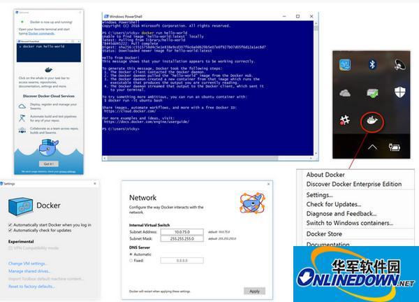 Docker for Windows截图