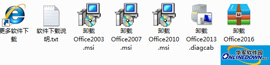Microsoft Office系列卸载工具合集2017截图