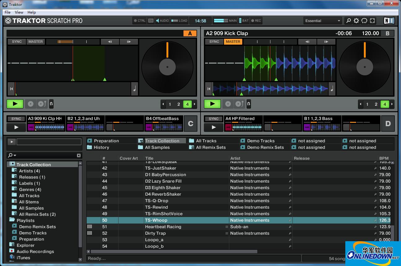 专业DJ工具软件截图