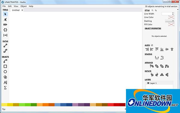Vexlio图表制作软件截图
