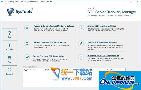 Systools SQL Server Recovery Manager