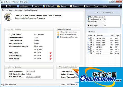 Cerberus FTP Server(FTP服务器软件)