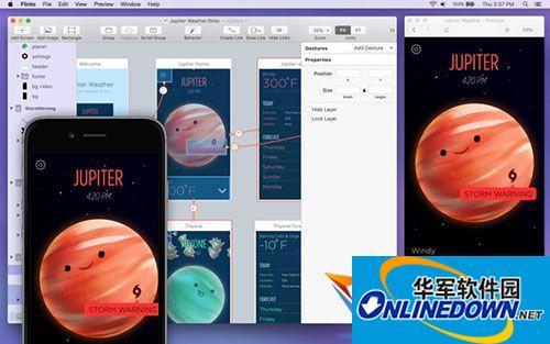 Flinto for mac(原型设计工具)