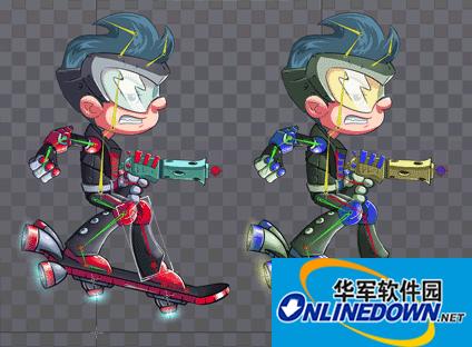 2D游戏动画制作软件(Spine)截图