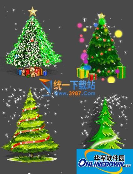 圣诞礼物(桌面圣诞树)