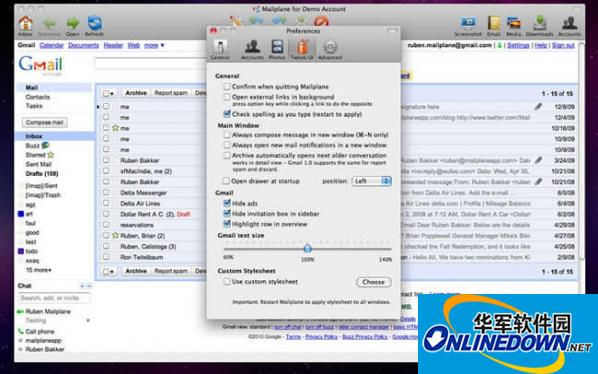 Mailplane for mac截图