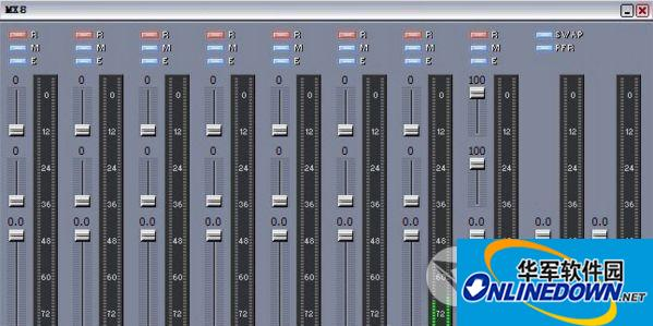 MX8调音台软件截图