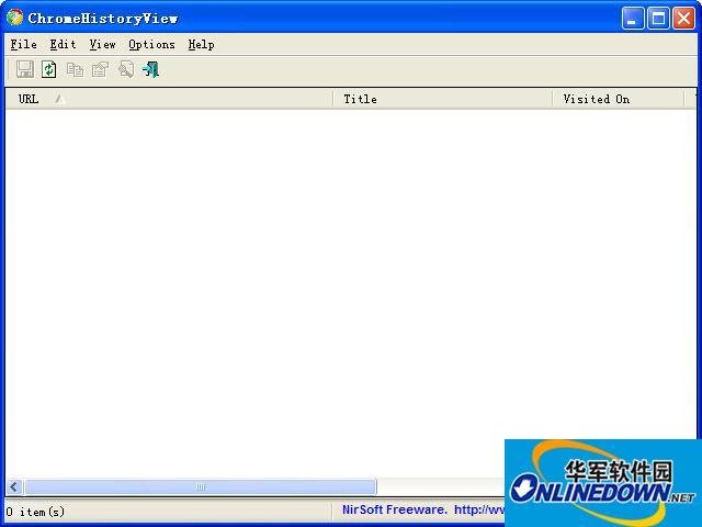 ChromeHistoryView(谷歌浏览器历史查看器)截图1