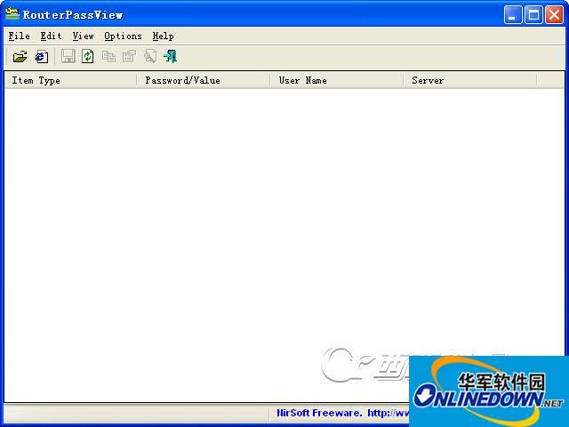读取路由配置文件(RouterPassView)截图1