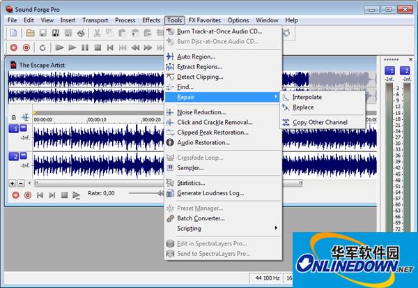 Magix Sound Forge Pro(音频编辑工具)截图