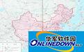 中国地图打包段首LOGO
