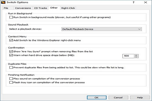 NCH Switch音頻文件轉換器