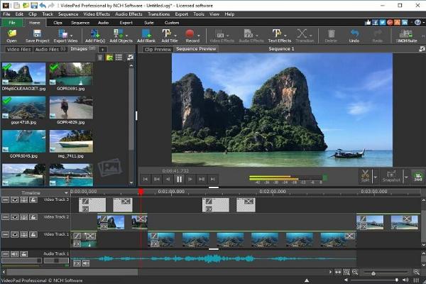 NCH VideoPad视频编辑器截图4