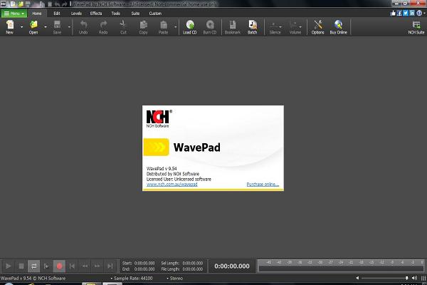 NCH WavePad音频编辑截图1
