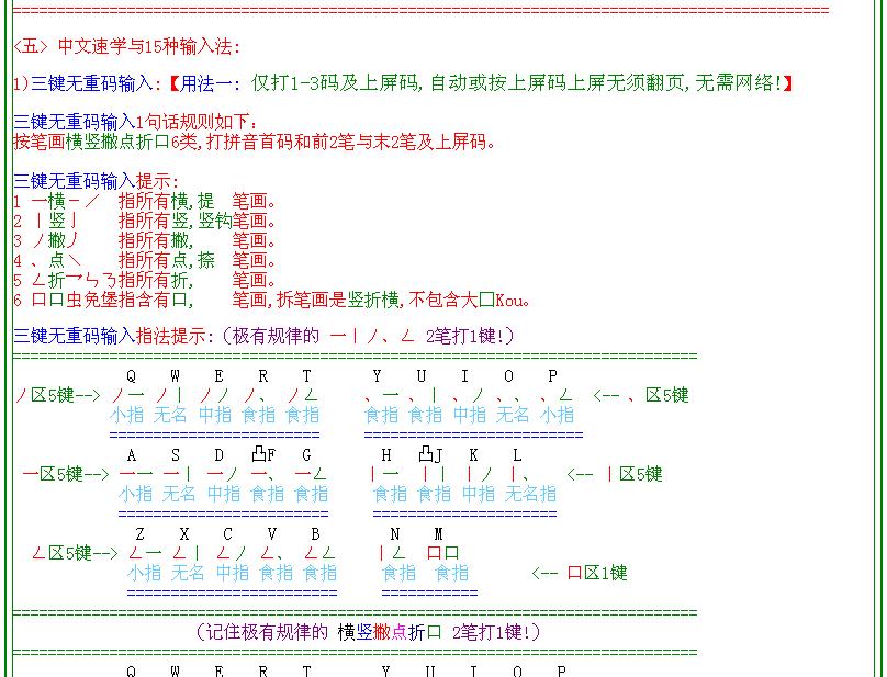 中文速学与15种输入法截图2