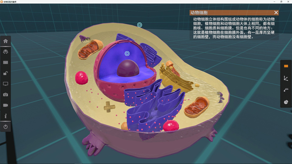 矩道高中生物VR3D虚拟仿真实验室(演示版)截图2