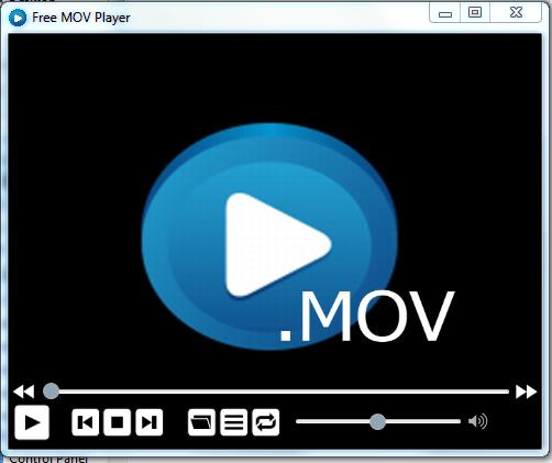Free MOV Player(MOV格式播放器)截图1