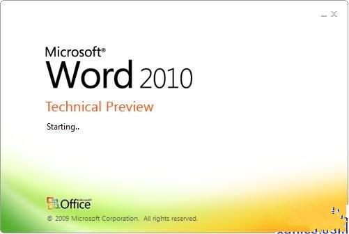 Microsoft Word 2010截图1