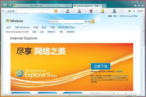 IE9 (Internet explorer 9)截图2