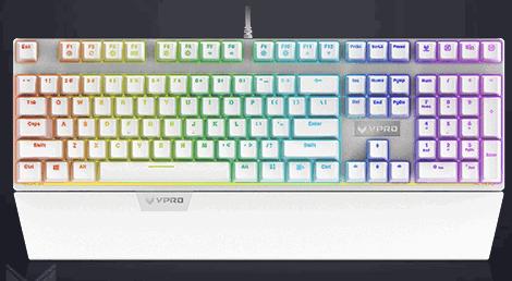 雷柏v720键盘驱动截图