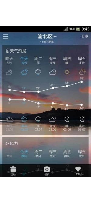 和天气(中国移动手机天气)截图2