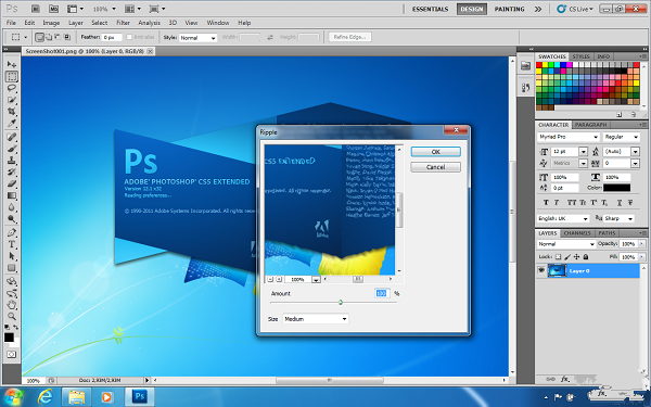 PhotoShop CS6截图1
