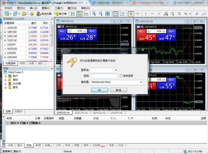 金荣中国MT4黄金外汇交易软件截图2