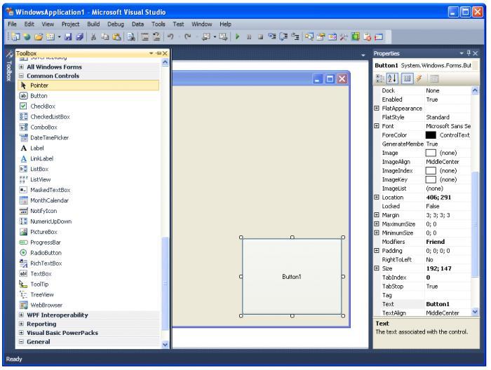 Microsoft Visual Studio2010截图1