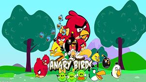 游戏愤怒的小鸟下载大全