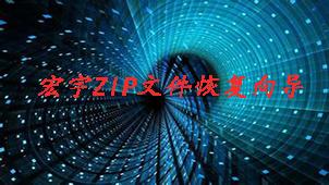 宏宇ZIP文件恢复向导专题