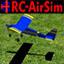 遥控飞机飞翔模型模仿器